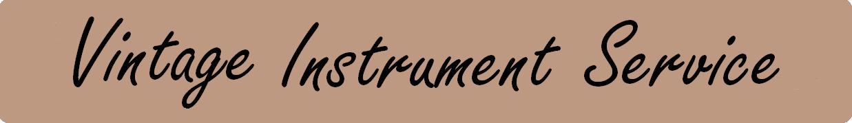 Vintage Instrument Service